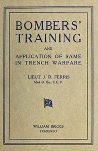 Bombers' Training, and Application of Same in Trench Warfare