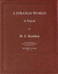Cover of A Strange World: A Novel. Volume 2 (of 3)