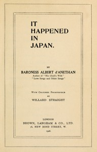 Cover of It Happened in Japan