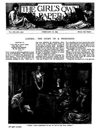 Cover of The Girl's Own Paper, Vol. XX. No. 999, February 18, 1899