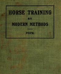 Cover of Horse Training by Modern Methods