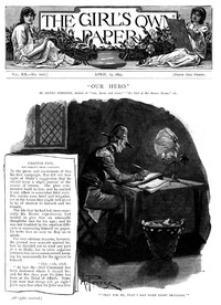 Cover of The Girl's Own Paper. Vol. XX. No. 1007. April 15, 1899