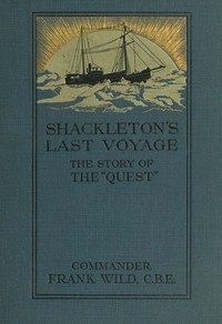 Cover of Shackleton's Last Voyage: The Story of the Quest