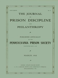 Cover of The Journal of Prison Discipline and Philanthropy, March 1912New Series No. 51