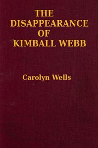 Cover of The Disappearance of Kimball Webb