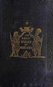 Cover of The Great Sieges of History