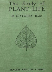 Cover of The Study of Plant Life