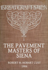 Cover of The Pavement Masters of Siena (1369-1562)