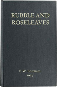Cover of Rubble and Roseleaves, and Things of That Kind