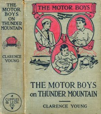 Cover of The Motor Boys on Thunder Mountain; Or, The Treasure Chest of Blue Rock