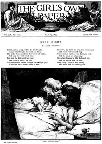 Cover of The Girl's Own Paper, Vol. XX. No. 1011, May 13, 1899