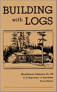 Cover of Building with Logs