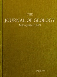 Cover of The Journal of Geology, May-June 1893 A Semi-Quarterly Magazone of Geology and Related Sciences