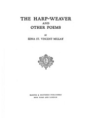 The harp-weaver, and other poems