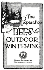 Cover of The Preparation of Bees for Outdoor Wintering