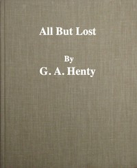 Cover of All But Lost: A Novel. Vol. 3 of 3