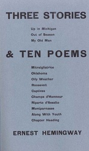 Cover of Three Stories & Ten Poems