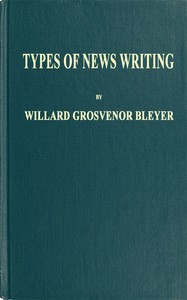 Cover of Types of News Writing