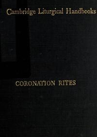 Cover of Coronation Rites