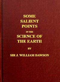 Cover of Some Salient Points in the Science of the Earth