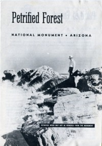 Cover of Petrified Forest National Monument (1953)