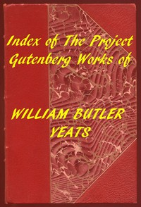 Cover of Index of the Project Gutenberg Works of William Butler Yeats