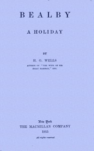 Cover of Bealby; A Holiday