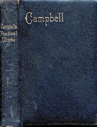 Cover of The Poetical Works of Thomas Campbell