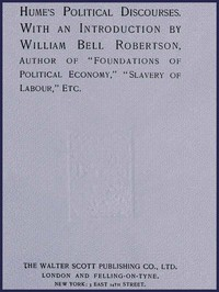 Cover of Hume's Political Discourses