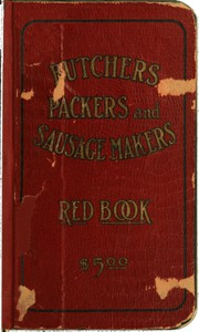 Butchers', Packers' and Sausage Makers' Red Book