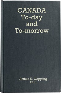 Canada To-day and To-morrow