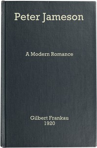 Cover of Peter Jameson: A Modern Romance