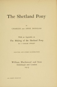 Cover of The Shetland Pony