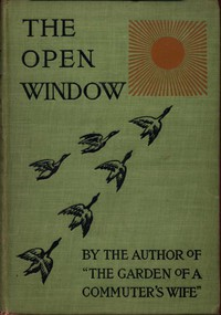 Cover of The Open Window: Tales of the Months
