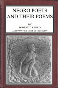 Cover of Negro Poets and Their Poems