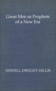 Cover of Great Men as Prophets of a New Era