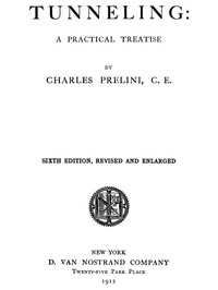 Cover of Tunneling: A Practical Treatise.