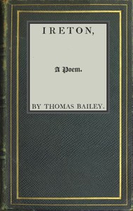 Cover of Ireton, a Poem