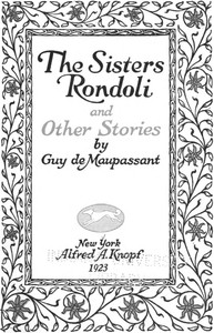 Cover of The Sisters Rondoli, and Other Stories