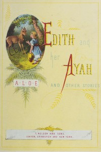 Cover of Edith and Her Ayah, and Other Stories