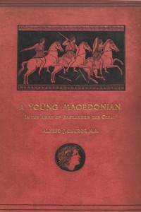 Cover of A Young Macedonian in the Army of Alexander the Great