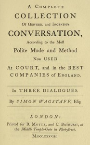 Polite Conversation in Three Dialogues