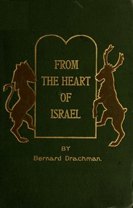 Cover of From the Heart of Israel: Jewish Tales and Types