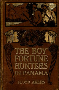 Cover of The Boy Fortune Hunters in Panama