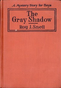 Cover of The Gray ShadowA Mystery Story For Boys