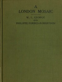 Cover of A London Mosaic