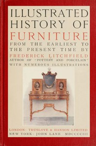 Cover of Illustrated History of Furniture, fifth ed.From the Earliest to the Present Time