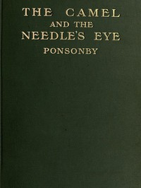 Cover of The Camel and the Needle's Eye