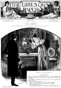 Cover of The Girl's Own Paper, Vol. XX, No. 1016, June 17, 1899