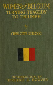 Cover of Women of Belgium: Turning Tragedy to Triumph